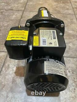 Pompe À Réaction Convertible À 1 HP Dp550c Double Tension Lourde 115/230-volt