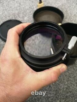 Rare Heavy Duty Canon Wide Converter 0.8x 82669 Japon Avec Objectif De Cas Original