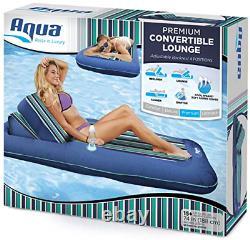 Salon Aqua Premium De Piscine Convertible, Flottaison De Piscine Gonflable, Service Lourd, 74