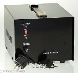Simran Ac-3000w Prise De Courant Convertisseur 110v-220v Up Down Transformateur 3000 Watt W