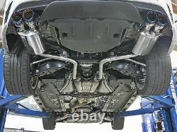 Takeda 2 304 Échappement Arrière En Acier Inoxydable Pour 2016-2017 Lexus Rc300 2.0l